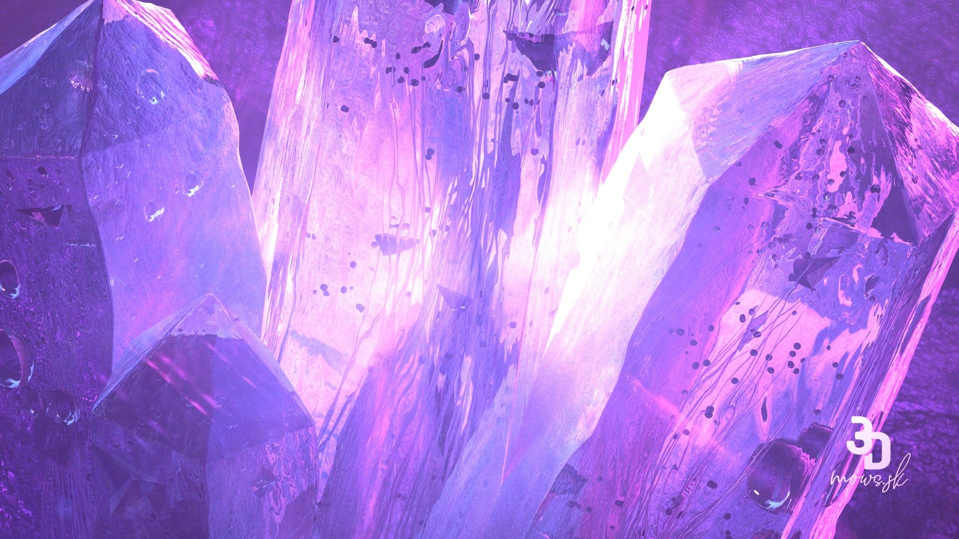 Detail ľadového kryštálu