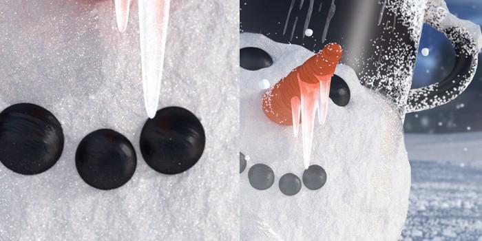 Reliéf kameňov cez displace modifier